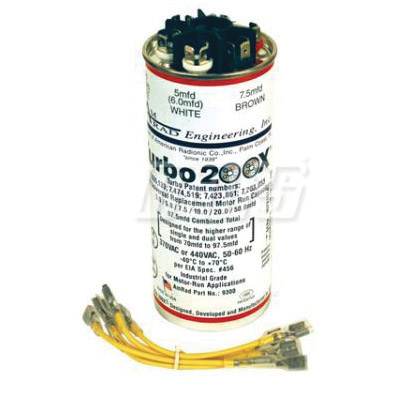 TURBO 200X MULTITAP CAPACITOR 5-97.5 MFD 370 OR 440V MARS