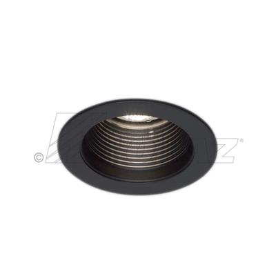 "RT401BL 4"" BLACK BAFFLE W/ BLACK RING 4"" RECESSED"