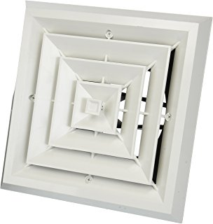 "SLIMDUCT 5.5"" WALL INLET WHT SW-140-W"