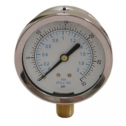 300# LIQUID FILLED PRESSURE GAUGE