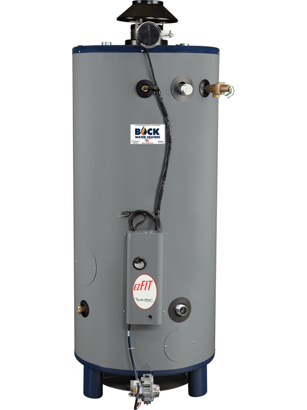 BOCK EZ80-199N 80GAL NAT GAS COMM WATER HEATER