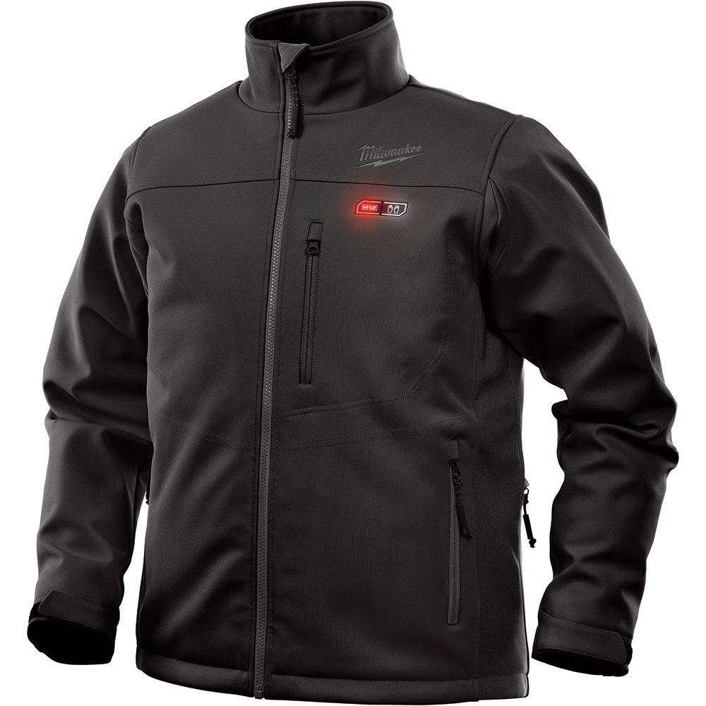 MILWAUKEE M12 HEATED TOUGHSHELL JACKET ONLY BLACK