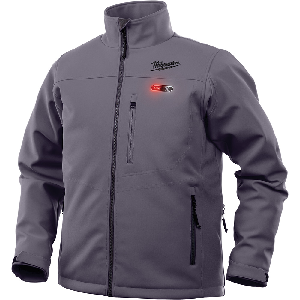 M12 HEATED TOUGHSHELL JACKET ONLY 2X (GRAY)