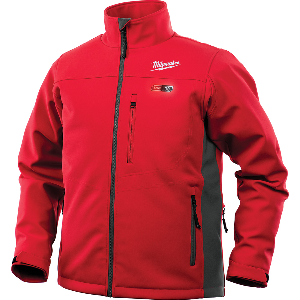 MILWAUKEE M12 HEATED TOUGHSHELL JACKET ONLY RED -