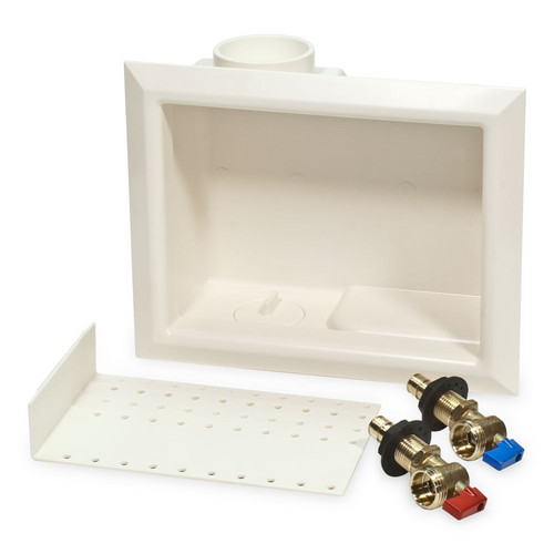 "ProPEX Washing Machine Outlet Box, 1/2"" ProPEX Valves"