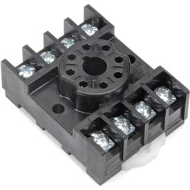 RC122 8 PIN OCTAL RELAY BASE