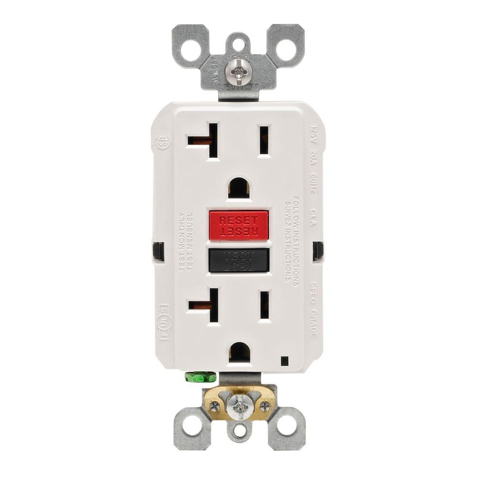 EAGLE TRCR20W 20A DPLX RECP TAMPERPROOF WHITE - SCHMIDTS WHOLESALE
