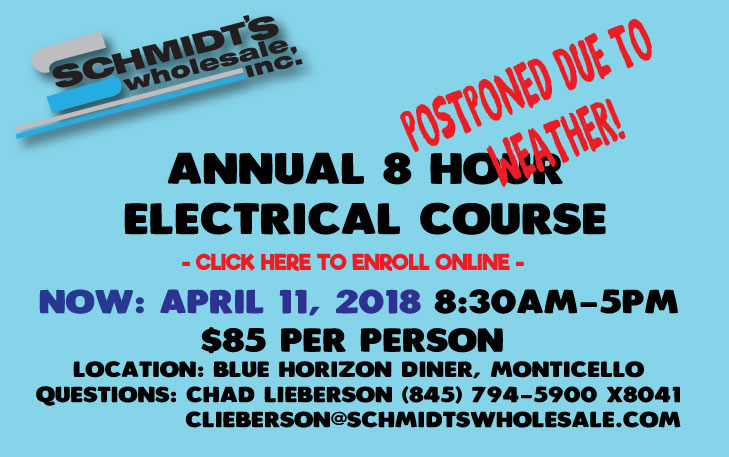 Electrical Code Class Signup