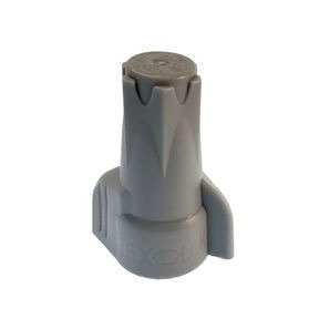 GB 25-2H2 GRAY WING WIRE NUTS H2 15/BAG (SOLD AS BAG OF 15)