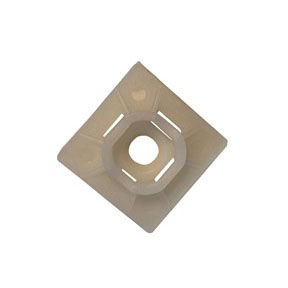"GB TIE MOUNT BASE 1"" X 1"" 100/BAG"