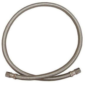 "FLEXIBLE ICE MAKER SUPPLY LINE 1/4 X 60"" J/S S04-231"