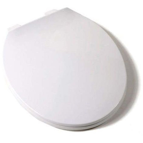 Comfort C1041-00 Round White closed front with cover