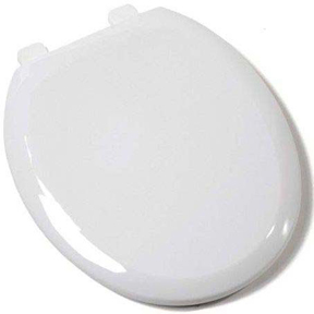 COMFORT WHITE CFWC ROUND EZ CLOSE TOILET SEAT
