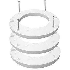 "COMPLETE CLOSET FLG EXTENTION KIT WITH 3--1/4"" EXT FLANGES"