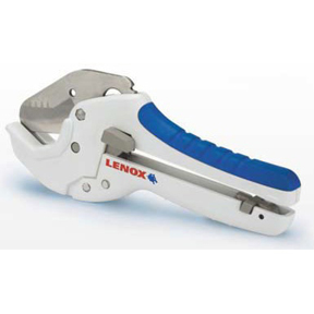 12123 LENOX RATCHET PLASTIC PIPE CUTTER* CUTS UP TO 1-5/8""