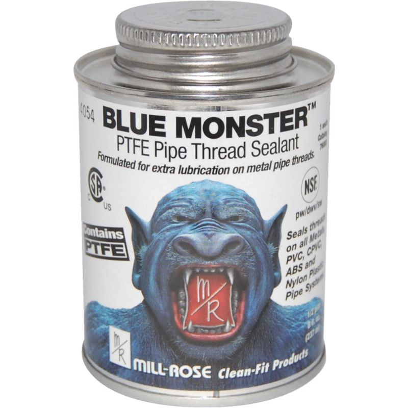 MILLROSE 76003 8OZ BLUE PTFE MONSTER THREAD SEAL COMPOUND