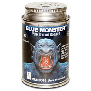 Millrose 76011 8OZ Blue Monster Thread Seal Compound