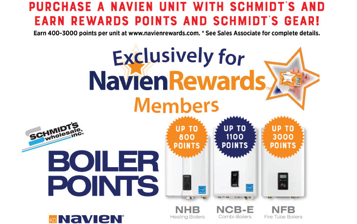Navien Units - Earn Gear and Points!