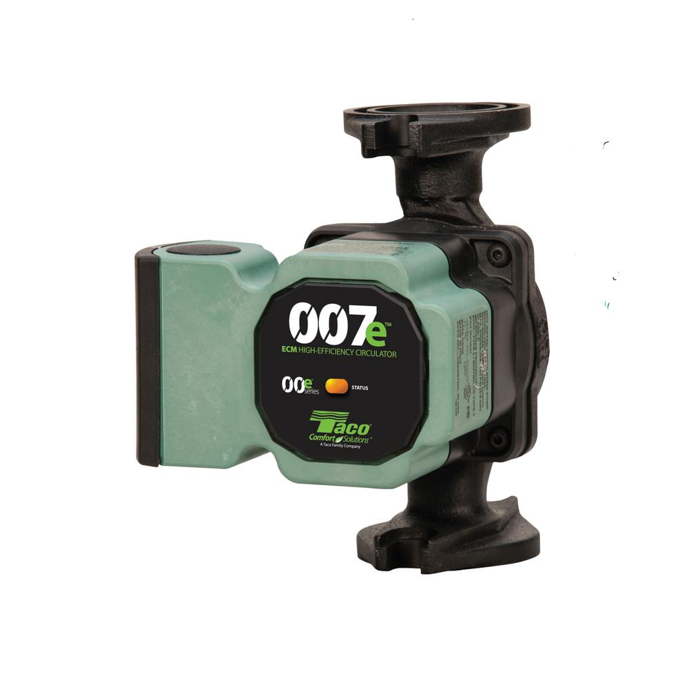 TACO 007e-2F4 ECO CIRCULATOR WITH 4 BOLT UNIVERSAL FLG