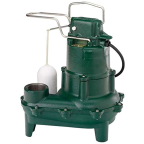 "ZOELLER M264 SEWAGE PUMP 2""NPT .4HP 115V AUTOMATIC WITH"