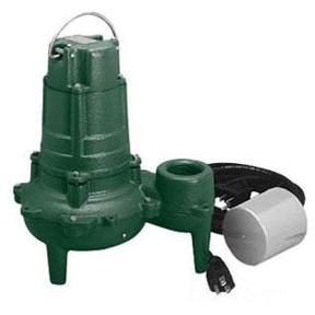 ZOELLER 267-0001, M267 SEWAGE PUMP, AUTOMATIC, 115V, 1/2HP