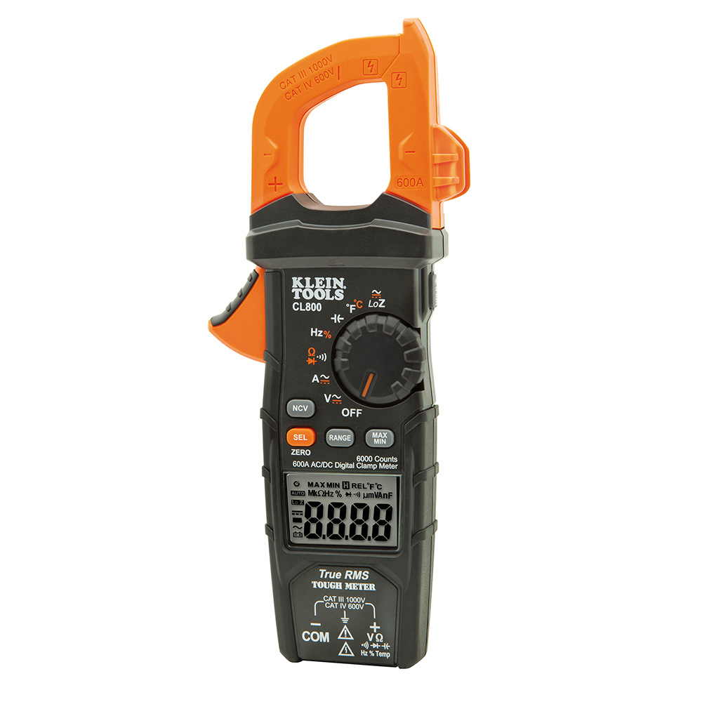 KLEIN CL800 400A AC/DC TRUE RMS CLAMP METER