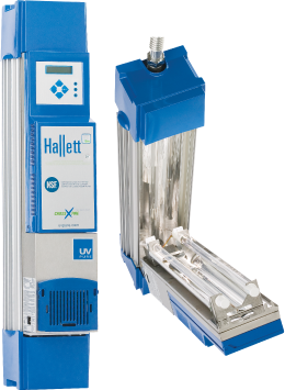 HALLETT 15XS COMPLETE UV SYS.