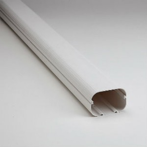 "SLIMDUCT 3.75"" X 78"" LENGTH WHITE SD-100-W"